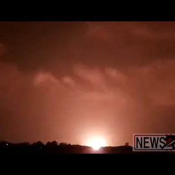 Rockets Descend on Gaza
