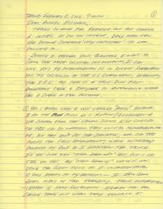 Santilli Letter 1