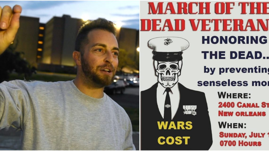 """Interview: Adam Kokesh Plans """"March of the Dead Veterans"""" at"""